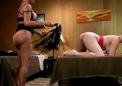 Spectacular grown-up TS disciplining bootylicious spoil