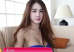 Thai tranny blows invoice nearly pov