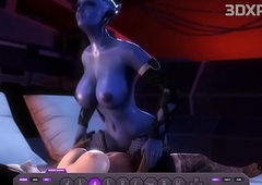 LIARA X ELIZABETH Ladyboy Making out Bushwa Way-out Anime